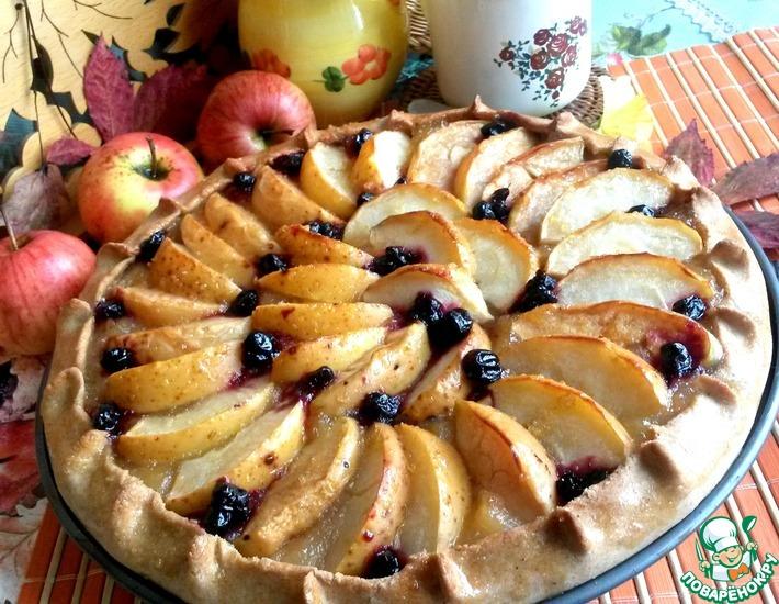 Рецепт: Яблочная галета