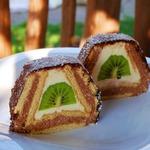 Торт из печенья Домик