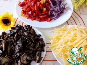 Салат-закуска в пекинской капусте ингредиенты