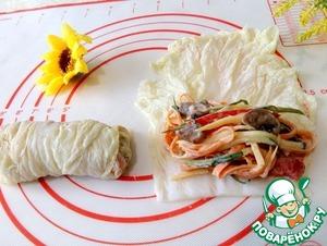 Салат-закуска в пекинской капусте Заправка