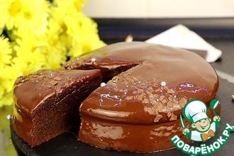 Рецепт: Шоколадный пирог Дабл