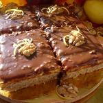 Орехово-лимонные пирожные