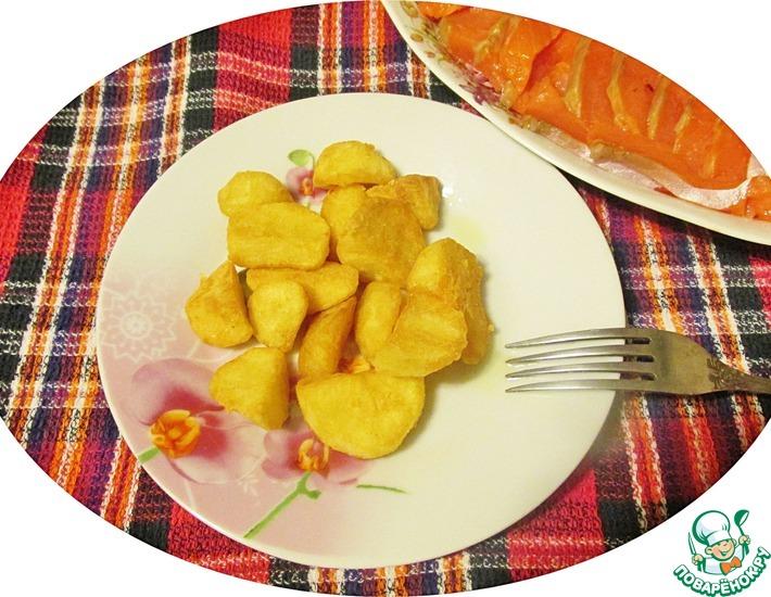 Рецепт: Хрустящий картофель Второй шанс