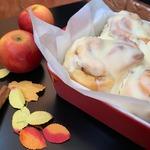Яблочные булочки «Синнабон»