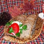Домашний хлеб из четырёх видов муки