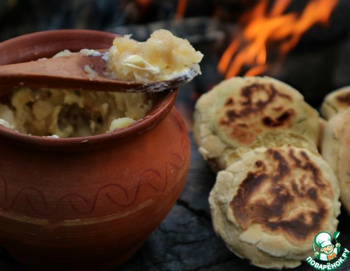Рецепт: Польский содовый хлеб Прозяки