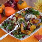 Салат с хурмой Витаминный