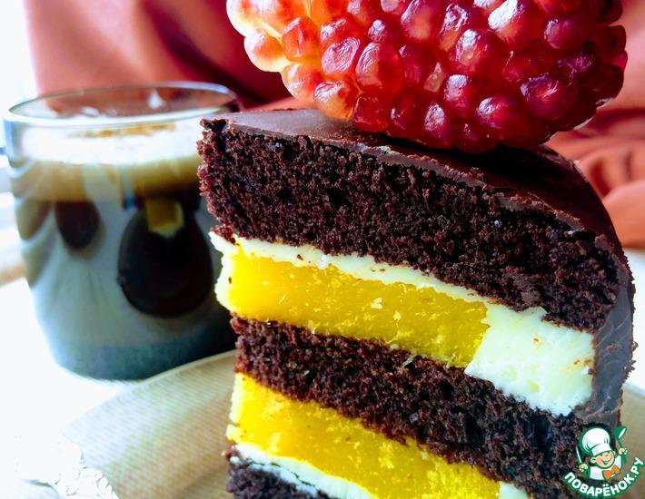 Рецепт: Торт Драгоценные камни