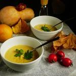 Тыквенный крем-суп Фондю