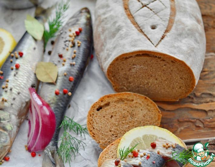 Хлеб с тмином и черным перцем