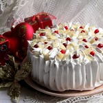 Торт Миндальная клюква