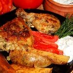 Курица лемонато с картофелем
