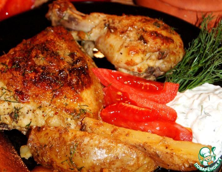 Рецепт: Курица лемонато с картофелем