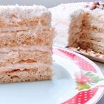 Нежный торт Молочная девочка