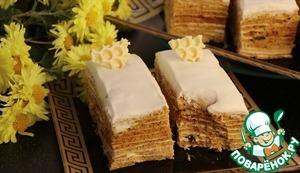 Поверьте, это очень-очень-очень вкусный тортик.   Надеюсь рецепт вам понравится!!!   Всем прекрасного настроения!!!