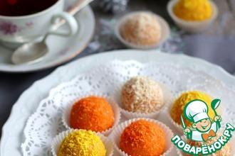 Рецепт: Домашние конфеты Три орешка для Золушки