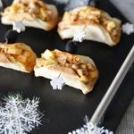 Тарталетки с салатом из копчёной колбасы