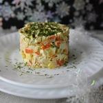 Салат с кальмарами Круиз