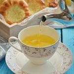 Вишневый чай с мандариновыми корочками