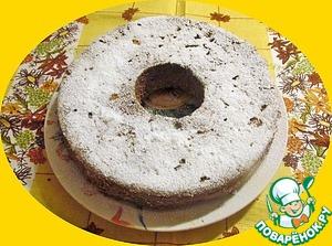 Остывший пирог присыпаем сахарной пудрой.   ПРИЯТНОГО!