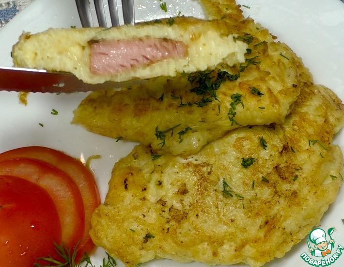 Рецепт: Вчерашняя вермишель на завтрак