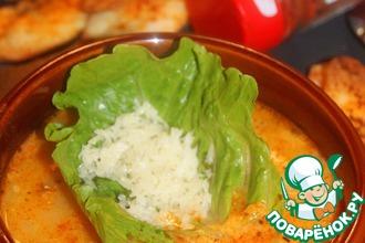 Рецепт: Тосканский суп с фаршем