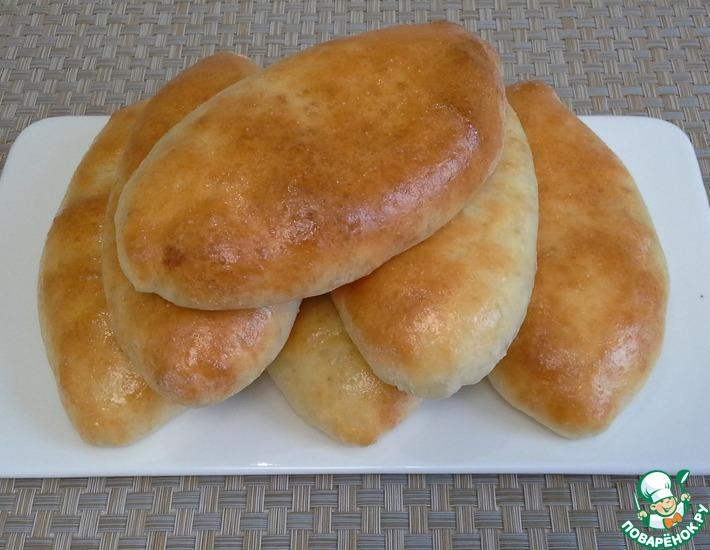 Рецепт: Творожные пирожки с яблоками