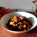 Морковный салат с тунцом
