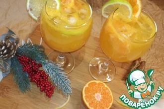 Рецепт: Мандариновый лимонад