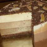 Бюджетный торт Три шоколада