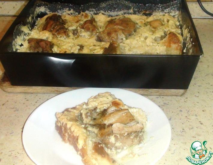Рецепт: Курица в тесте Квргуша
