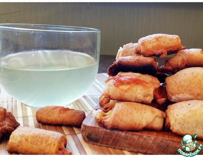 Рецепт: Печенье на рассоле с сыром