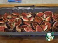 Мраморный кекс с инжиром ингредиенты