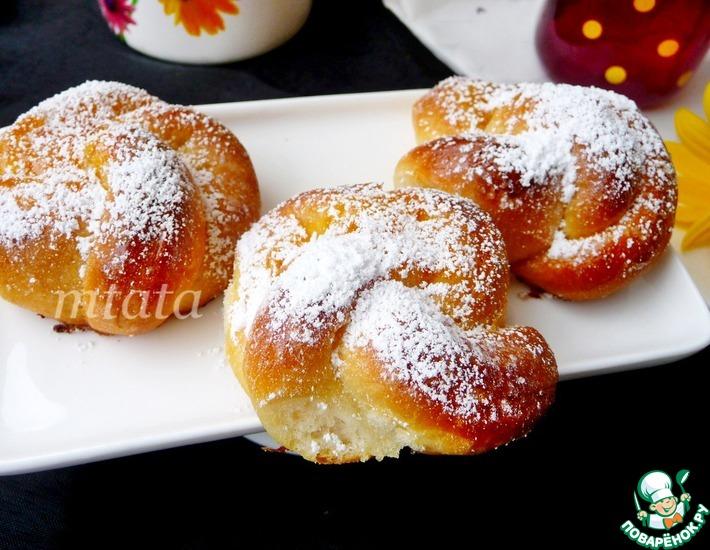 Рецепт: Мини-булочки с джемом