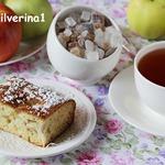 Сметанно-медовый пирог с яблоками