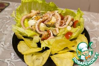Рецепт: Салат Жемчужина моря