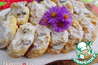 Рецепт: Творожное печенье, как сырники