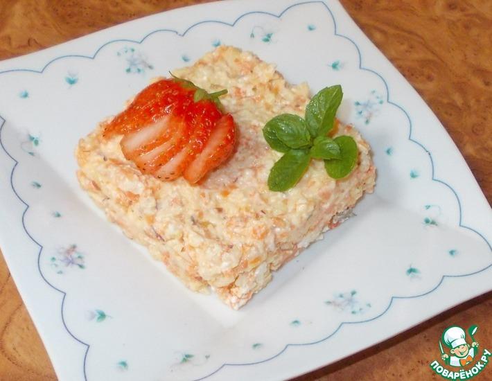 Рецепт: Салат-перекус витаминный Стройная мама