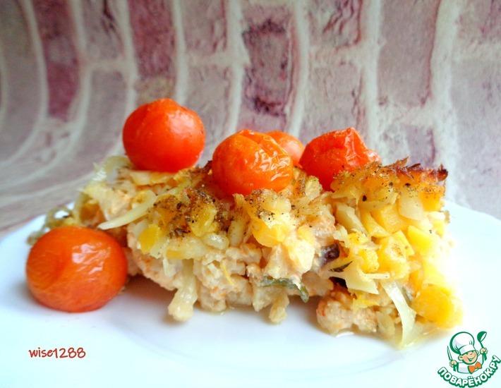 Рецепт: Цветная капуста, запеченная с пастернаком