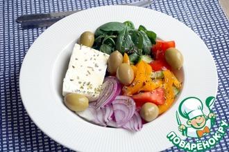 Рецепт: Греческий салат региона Македония