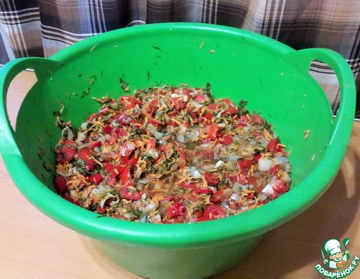 Рецепт: Суповая заправка на зиму Мамина