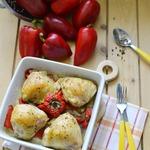 Куриные бёдра, запечённые с ароматным перцем