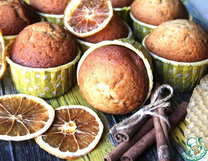 Рецепт: Кексы магдалены с медом и корицей