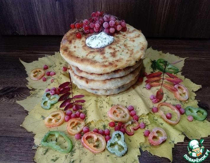 Рецепт: Яично-луковые лепёшки