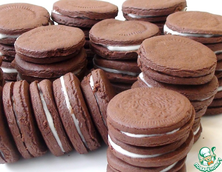 Рецепт: Печенье Орео