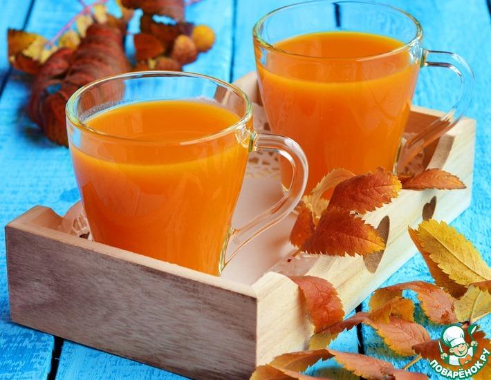 "Напиток с мякотью ""Осеннее золото"""