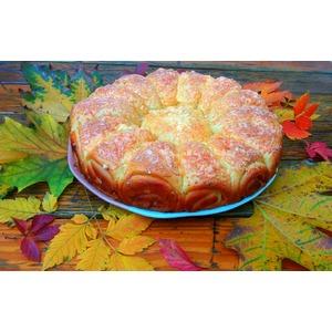 Дрожжевой пирог с фаршем
