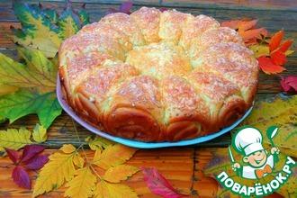 Рецепт: Дрожжевой пирог с мясным фаршем