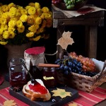Пряное желе из винограда Изабелла