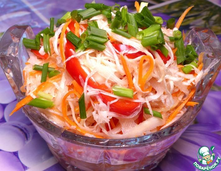 Рецепт: Маринованная капуста